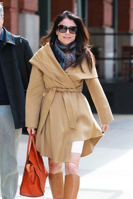 Bethenny Frankel gives her Birkins a rest in favor of a Celine Luggage Tote | TAFT: Trends And Fashion Timeline | Scoop.it