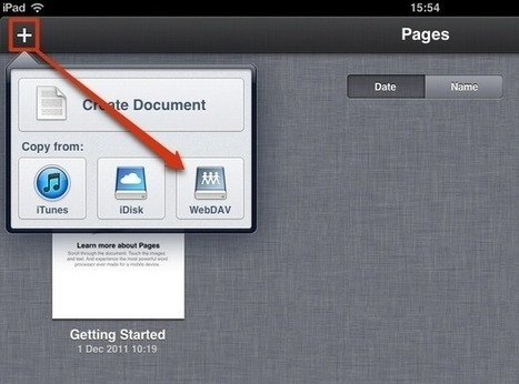How to: Use Pages for iPad with Most Cloud Services | Skolebibliotek | Scoop.it