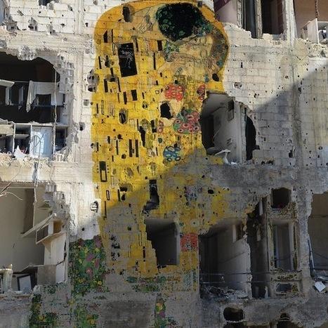 Freedom Graffiti : Un hymne à la liberté du syrien Tammam Azzam | TrendsArt | Scoop.it