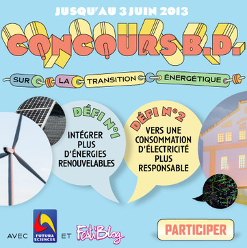 Concours #BD : illustrez la transition énergétique ! | Au delà des lignes Date limite : 3 juin 2013 | Romans régionaux BD Polars Histoire | Scoop.it