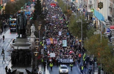 Thousands Of Reproductive Rights Advocates March In Protest Of Ireland's Abortion Ban | What's New on the 39 Topics I Follow? | Scoop.it