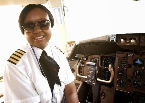 IRENE KOKI MUTUNGI KENYA PILOT Africa's first captain flying the ... | Swimming Pools! | Scoop.it