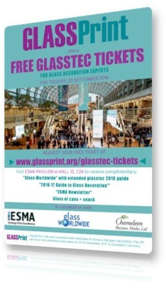 Glasstec 2016: Tien ESMA leden laten de stand van zaken op het gebied van glas en functioneel printen zien - Blokboek - Communication Nieuws | BlokBoek e-zine | Scoop.it