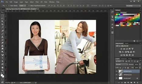 Couple of Ways and Tips to Place One Image Next to Another in Photoshop | DesignEasy | Photography | Scoop.it