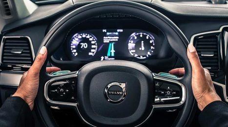 Volvoengage sa responsabilité sur la voiture autonome | Tous les capteurs | Scoop.it