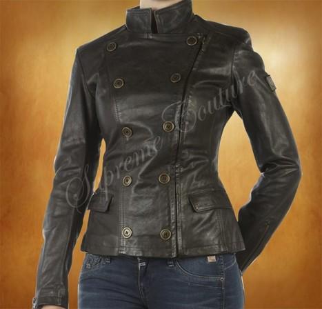 Kristen Stewart as Bella Swan Leather Jacket Costume Twilight Breaking Dawn | WOMEN JACKETS | Scoop.it