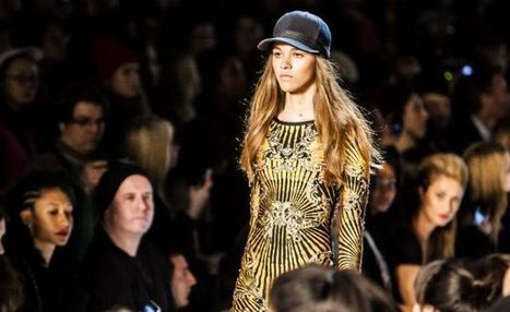 NYFW Hervé Léger show and exclusive interview with Val Garland | Best of the Los Angeles Fashion | Scoop.it