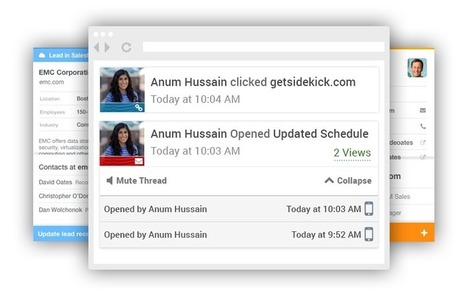 Free CRM for Small Business | HubSpot CRM | Ovation & ACT | Scoop.it