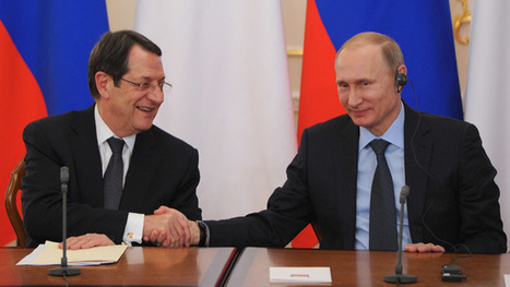 Russia to help Cyprus overcome crisis aftermath – Putin | Global politics | Scoop.it