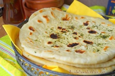 Naan pain indien (recette facile) | Recettes Pour Ramadan 2016 | Scoop.it