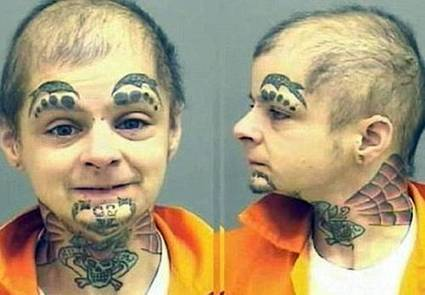 The Face Tattoo | Strange days indeed... | Scoop.it