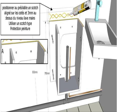 Comment monter un meuble avec lave-mains intégré ? | Planete Bain | Le blog ! | Bricoler sa salle de bain ! | Scoop.it