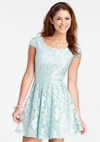 Cap Sleeve Lace Dress | Universiteit | Scoop.it