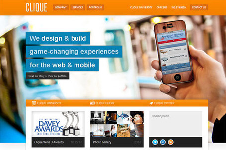 Anatomy of Colors: Using Orange in Web Design | Crazy Pixels | responsive design II | Scoop.it