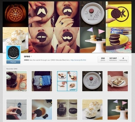 How Oreo owns social media through Twitter, Instagram, Vine and Pinterest | AnimalConservation | Scoop.it
