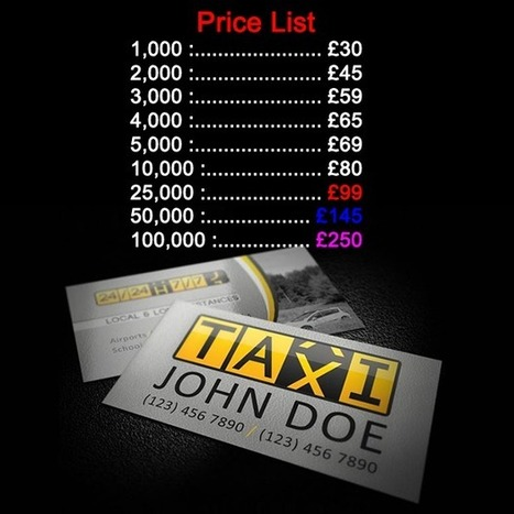 Taxi business cards printing | Cheap Taxi Minicab Cards Printing uk | What you should know about receipt books form printing | Scoop.it