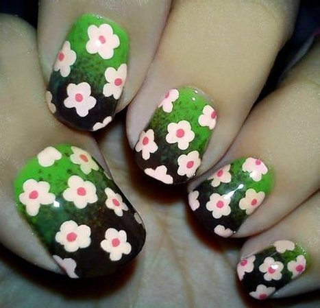 Easy Nail Design Ideas for Short Nails | Nail Designs | Scoop.it