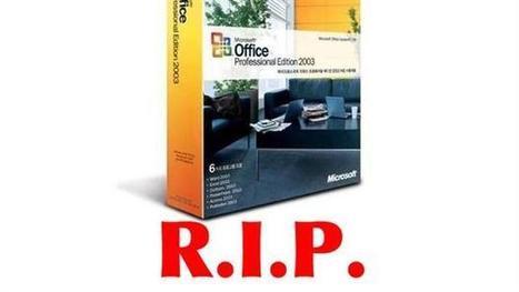 8 de abril: el fin para Windows XP, pero también para Office 2003 - PcWorld   Office a full   Scoop.it