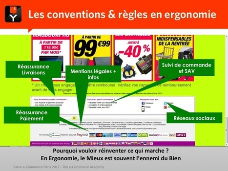 Ergonomie et référencement : les meilleures pratiques pour 2013 | Geckode: Développement Web et mobile | Scoop.it