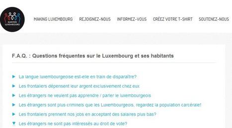 Making Luxembourg: Questions fréquentes sur le Luxembourg et ses habitants | Luxembourg (Europe) | Scoop.it