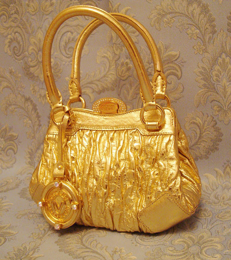 "Valentino Orlandi ""Gold"" Bag from Le Marche 