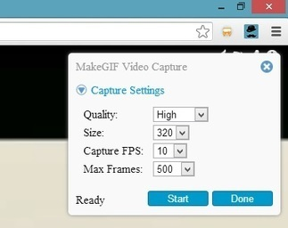 Turn Vimeo & YouTube Videos in Animated Gifs with MakeGIF Video Capture | Le Top des Applications Web et Logiciels Gratuits | Scoop.it