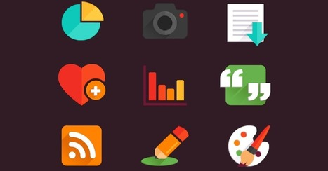 53 Gorgeous Sets of Flat Design Icons | Tools & Resources | Scoop.it