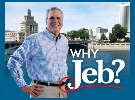 Il volantino di Jeb Bush e il pasticcio con Photoshop - Clickblog.it (Blog) | fotomontaggi | Scoop.it
