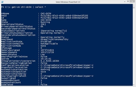 10 Awesome PowerShell Cmdlets for Hyper-V | Hyper-V digest | Scoop.it