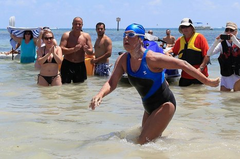 Sharks and Nature Cooperate For Solo Cuba-to-Florida Swim | Nerd Vittles Daily Dump | Scoop.it