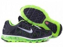 Mens 2009 Nike Air Max Black Green Silver | Nike sneaker | Scoop.it