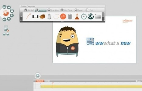 Wideo, excelente forma de hacer animaciones por Internet | Las TIC y la Educación | Scoop.it