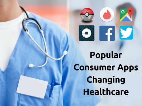 Popular Consumer Apps Changing Healthcare | Healthcare and Technology news | Scoop.it