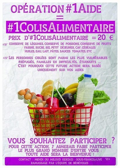 #1ColisAlimentaire sur #chatellerault par @sous_france | Chatellerault, secouez-moi, secouez-moi! | Scoop.it