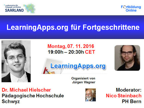 Webinar: LearningApps.org für Fortgeschrittene | Moodle and Web 2.0 | Scoop.it