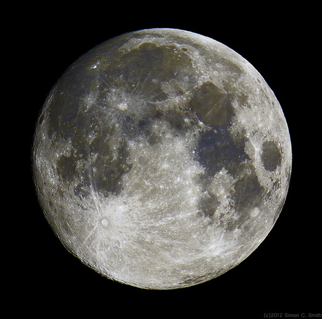 Luna Azul | Imagen astronomía diaria - Observatorio | Hermético diario | Scoop.it