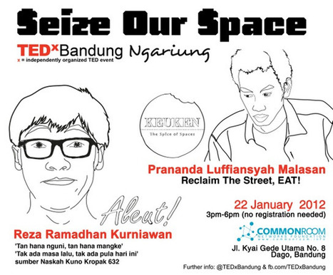 TEDx Bandung Ngariung | Seize Our Space | 22 Januari 2012 « Common Room Networks Foundation | Common Room | Scoop.it