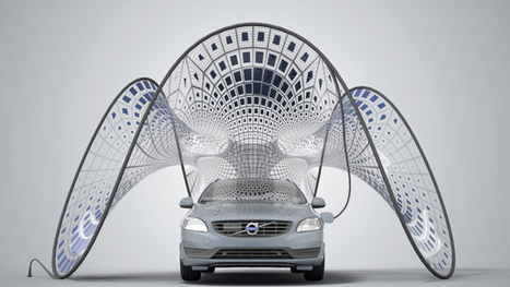 Volvo's Folding Solar Panels Are Basically The Coolest Thing Ever - Jalopnik | Energy-Saving | Scoop.it