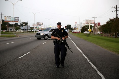 3 police officers killed, 3 wounded in Baton Rouge; gunman dead | Upsetment | Scoop.it
