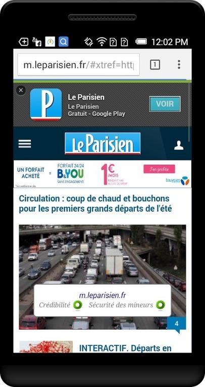 Tap n trust – WOT sur Android | Libertés Numériques | Scoop.it