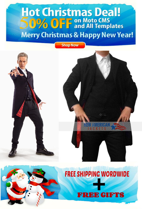 Peter Capaldia Doctor Who Coat - New American Jackets | New american jackets online Store | Scoop.it