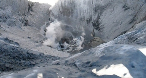 VIDEO: Explosion at Peru's Ubinas volcano sets off mudslides   Geology   Scoop.it