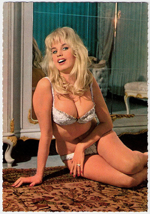 *European Film Star Postcards*: Barbara Valentin | Sex History | Scoop.it
