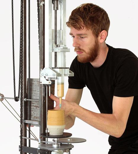 daniel de bruin's analog 3D printer | laurent | Scoop.it