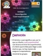 Investigacion Cuasi Experimental | Investigación ,experimental, cuasi-experimental y no experimental. | Scoop.it
