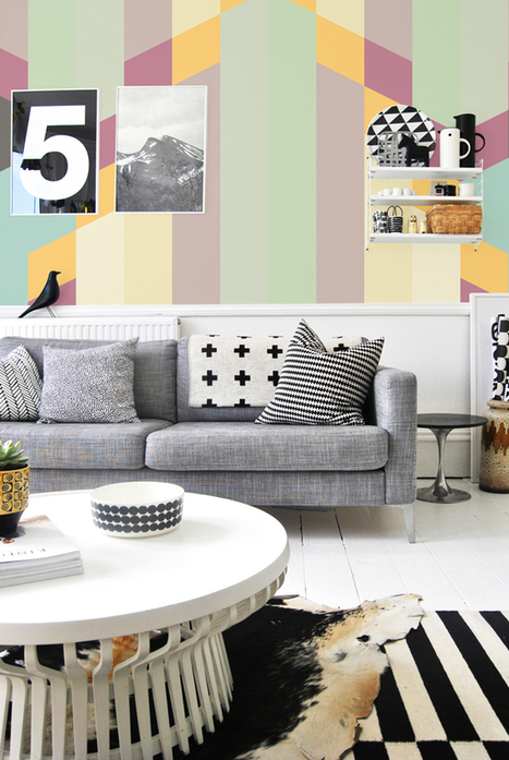 Happy Interior Blog: Cheer Up Your Walls With Pixers | perfectlygrand | Scoop.it