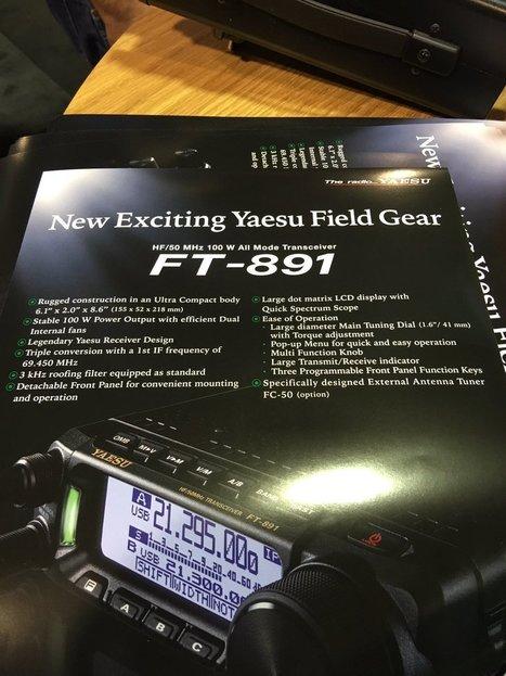 Yaesu FT-891 HF/6M Mobile Transceiver | Ham Radio | Scoop.it