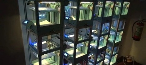 An automat of wireless 3D printers | Big and Open Data, FabLab, Internet of things | Scoop.it