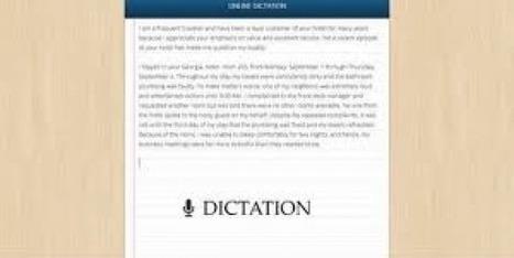 Dictation – Speech Recognition in the Browser | Geeks9.com | geeks9geek | Scoop.it
