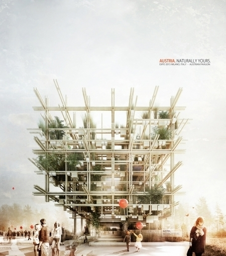Edible Austrian Pavilion for 2015 Milan Expo by penda & Alex Daxböck | sustainable architecture | Scoop.it